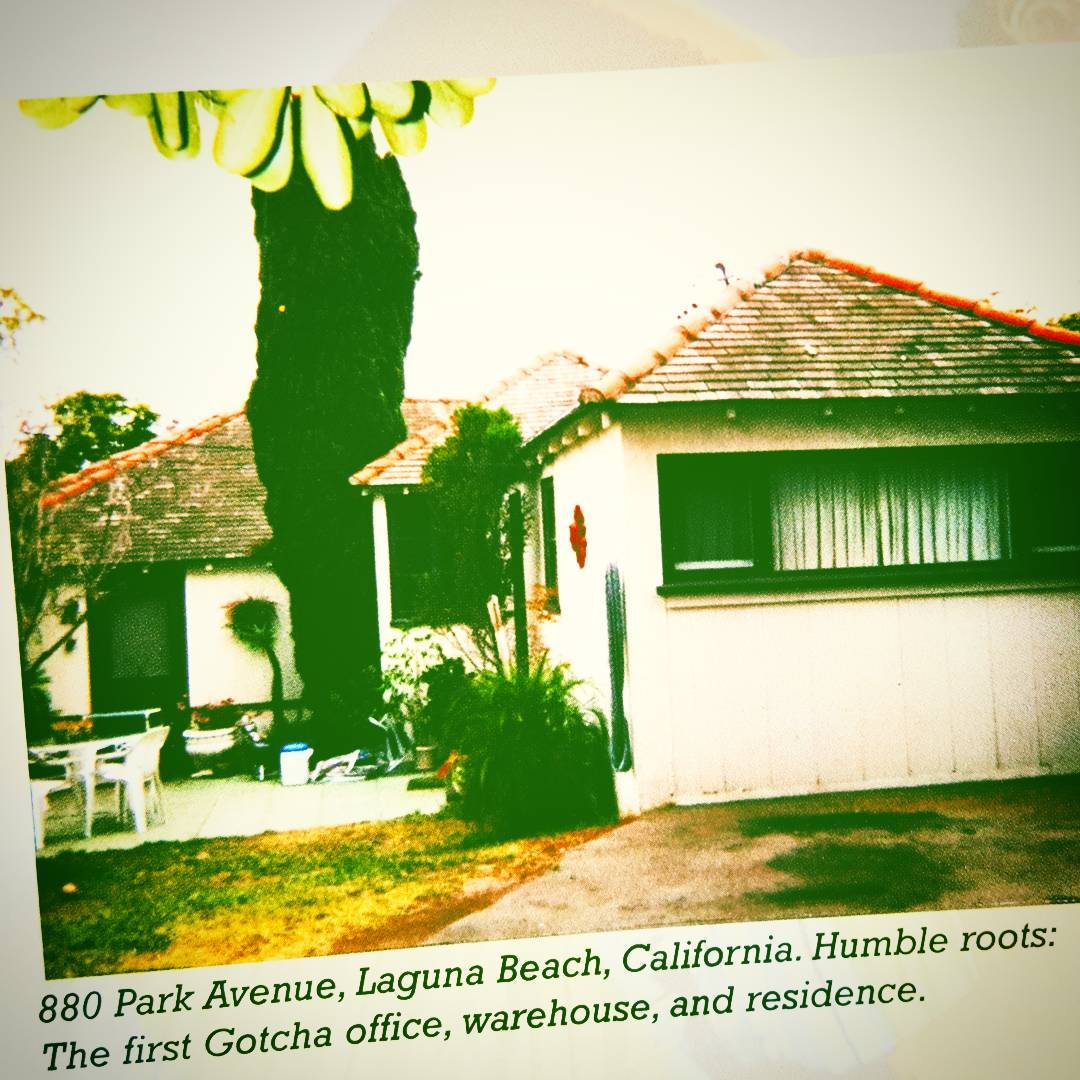 #humble roots! // First Gotcha #headquarters //#lagunabeach #california // #iconsneverdie