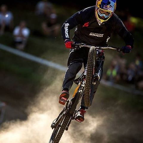 #Repost from @loicbruni29 // @aledilullophotography // @teamspecializedgravity - First official race of the year down in NZ for #CrankworxRotorua We are excited!!! #SixSixOne #661Protection #ProtectFun