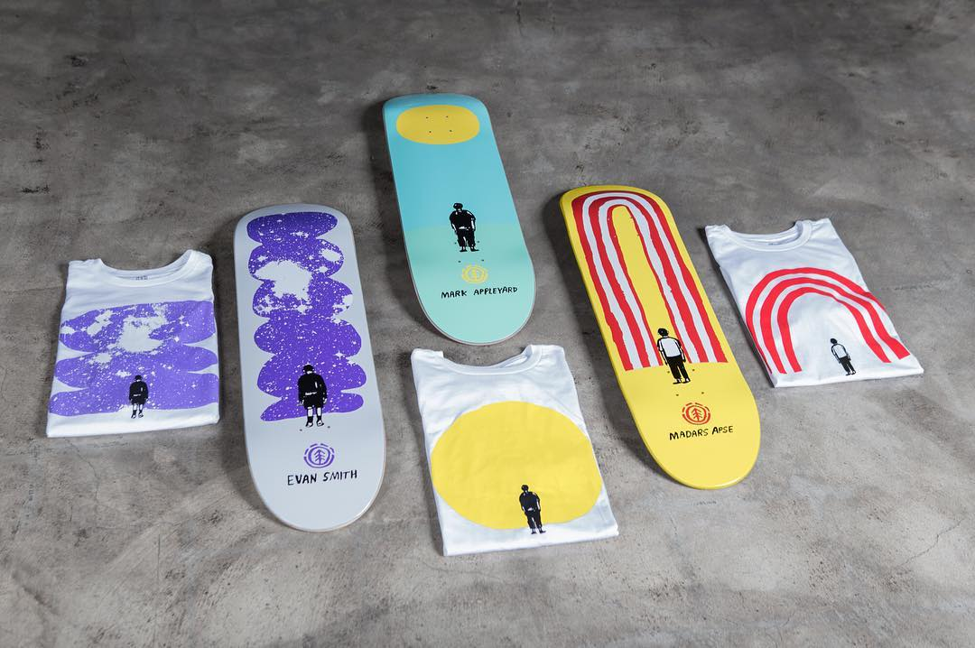"whats your favorite @nathanielrussell x @elementbrand board? >>> @mark_appleyard (7.825""), @madarsapse (8.0""), and @starheadbody (8.25"") >>> #elementperspective #nathanielrussell"