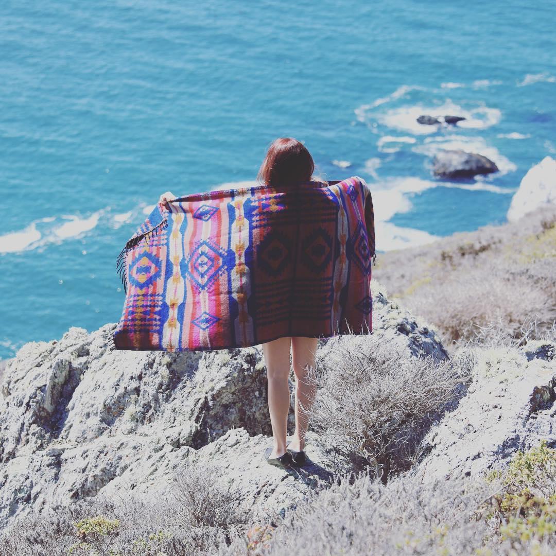 The Marin coastline with Montara Blankets.  #Marin #coast #bolinas #stinson #headlands #gg #juliaszendrei #montara