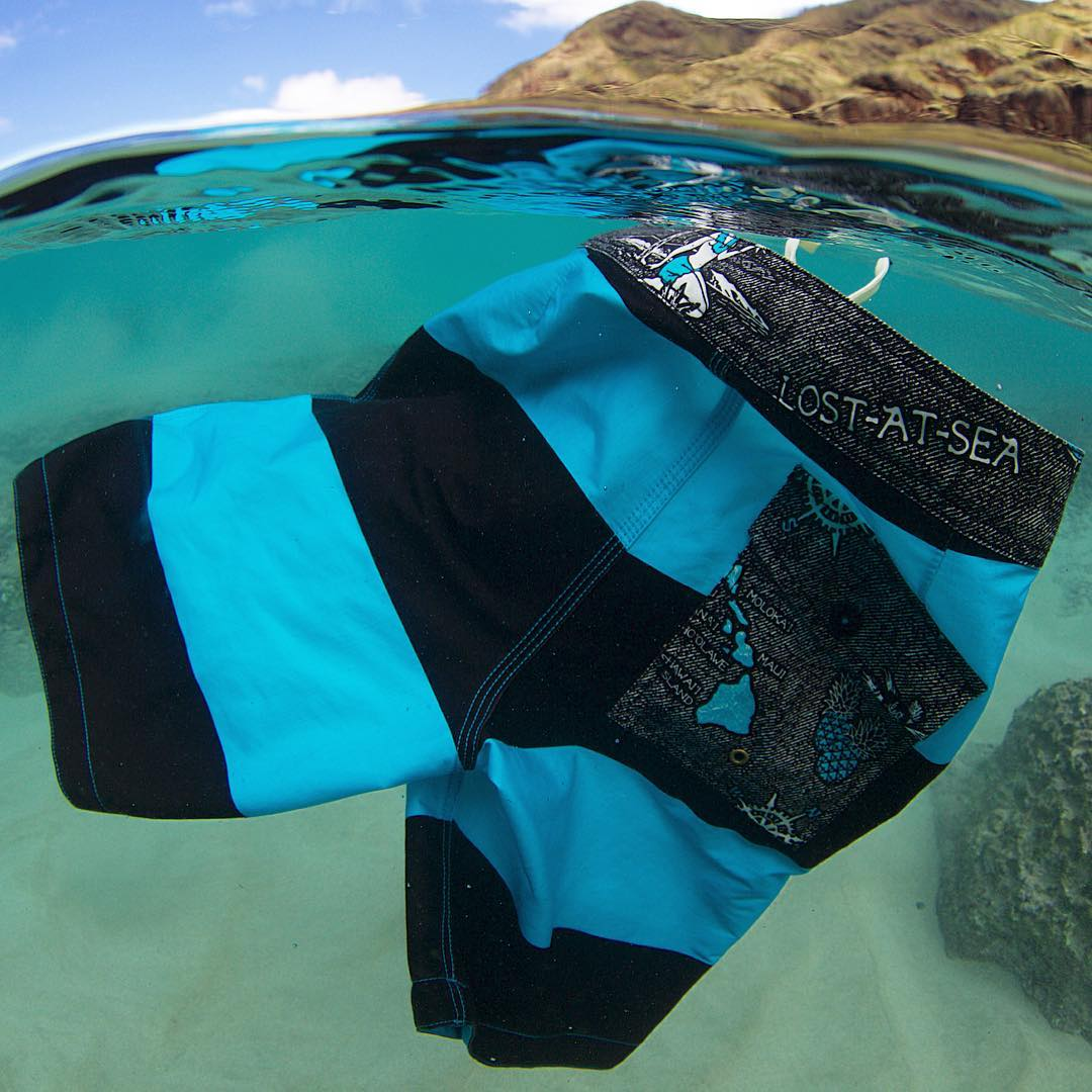 "New ""Honker"" boardshorts from the ...Lost At Sea Collection. Available in stores and online now."