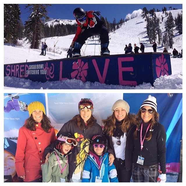 SHRED THE LOVE // Sugar Bowl It's our final stop of the Shred The Love series and we're celebrating under lovely blue bird skies!  If you're in the area, stop by to catch the rail jam happening now or hang with the B4BC crew, get educated, listen to...