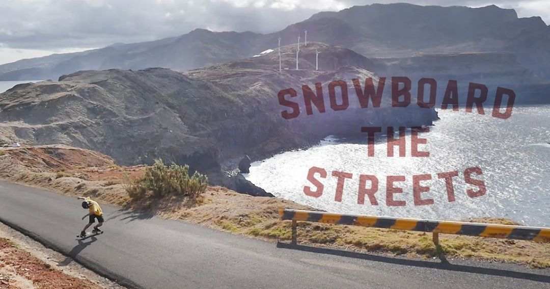 #SnowboardTheStreets Rider: Jordi Puig from the Divide And Conquer video