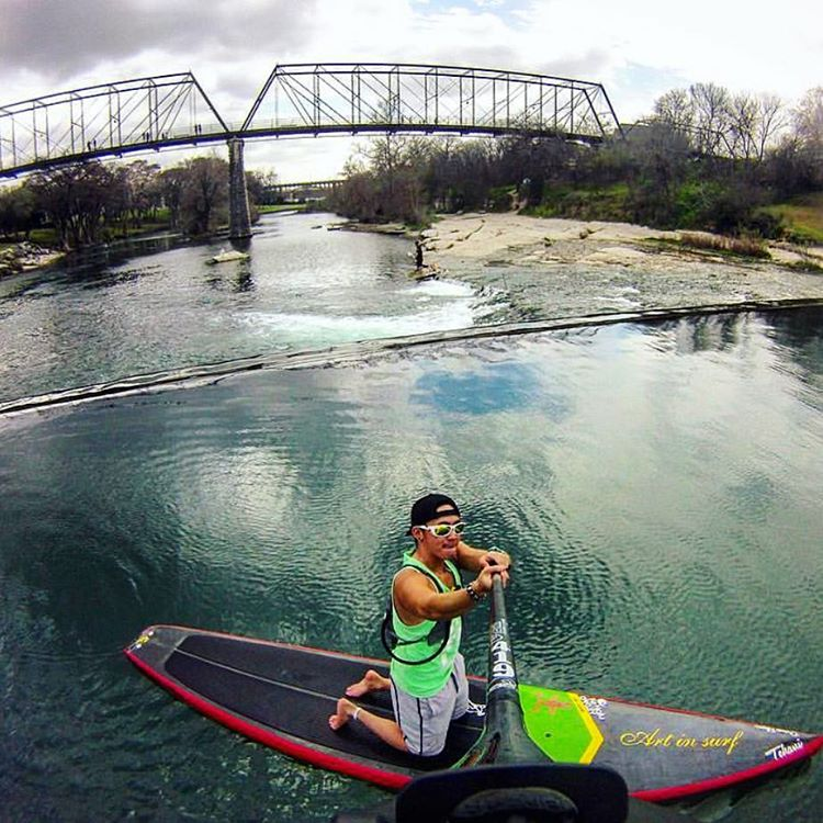 Team rider @bpunz512 getting ready for paddle season. Who else is ready for warmer weather?? ☀️ #paddleboard #atx