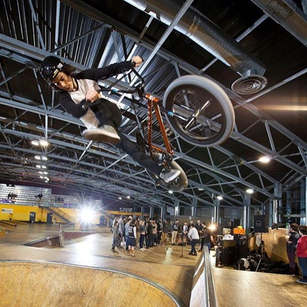 Kick back, it's Friday!! Latest #bmx signing @tanguylabertrande having a blast at his local spot. #SixSixOne #661Protection #DirtLidPlus #ProtectFun