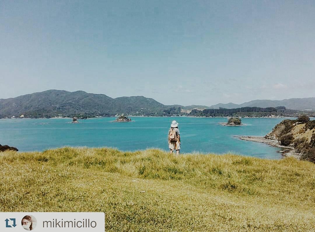Descubriendo paraísos @mikimicillo con su mochila Navajas Suela / NZ #outsideisfree #welltravelled #explore #wildlife #backpack #mochilas #newzealand #urbanoutdoor