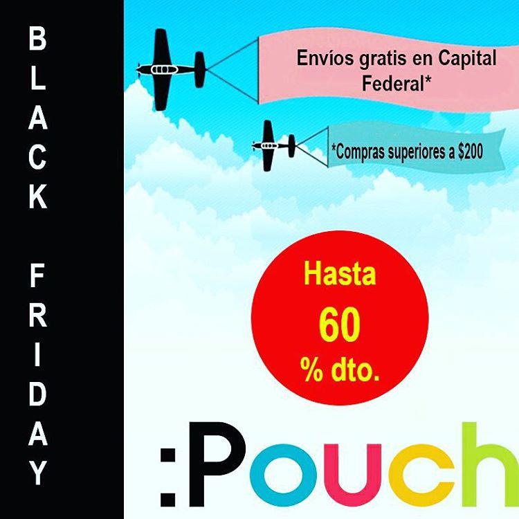 Llego el Black Friday a Pouch! Hasta 60% Off en productos seleccionados. Adelantate a la Navidad y aprovecha los descuentos. Entra a www.the-pouch.com.ar y conocelos!!!