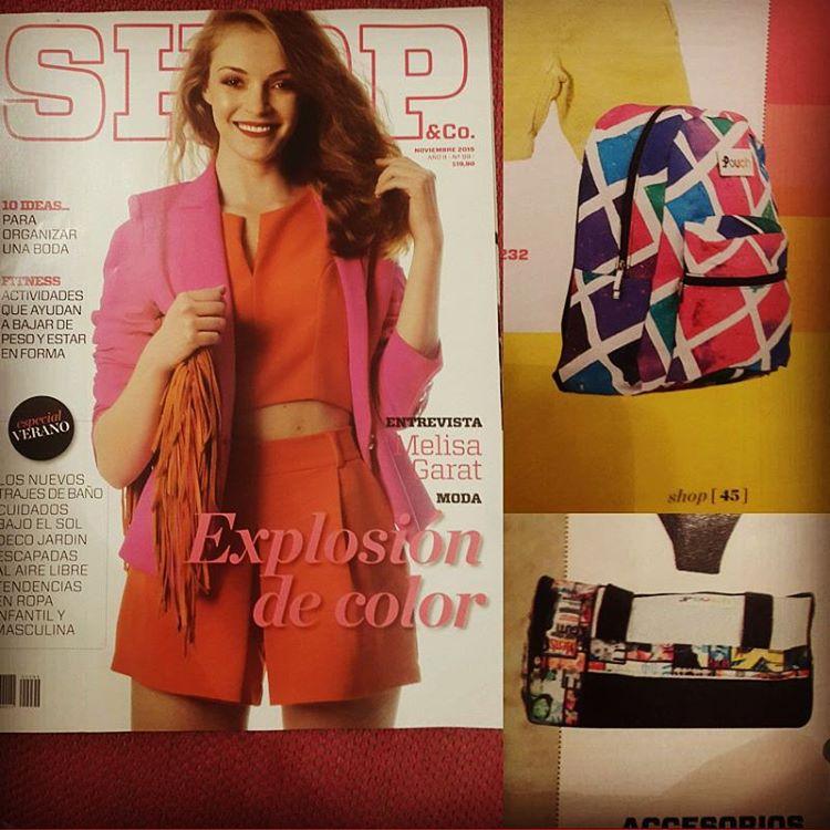 Gracias revista Shop de Clarin x volver a confiar en Pouch !!!