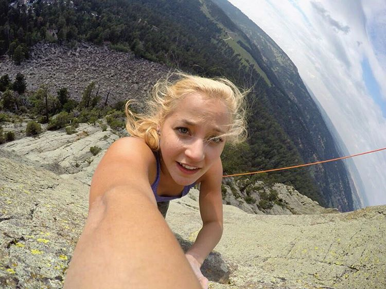 #GoPro Featured Photographer + #GoProGirl @sashadigiulian  About the Shot: I nabbed this one while ascending #DevilsTower back in July 2015. This is one of the most popular places to climb in the states and I was happy to spend the Fourth of July at...