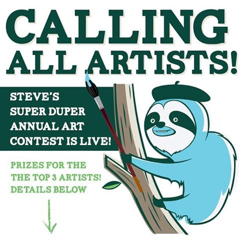 Want to win a #Cuipo swag bag?  To enter:  1) Post your rainforest-inspired artwork on Instagram (make sure your profile isn't private during the contest so we can see all entries) 2) Tag @MyCuipo and use  #CuipoContest to make sure we see it! 3) Boom!...