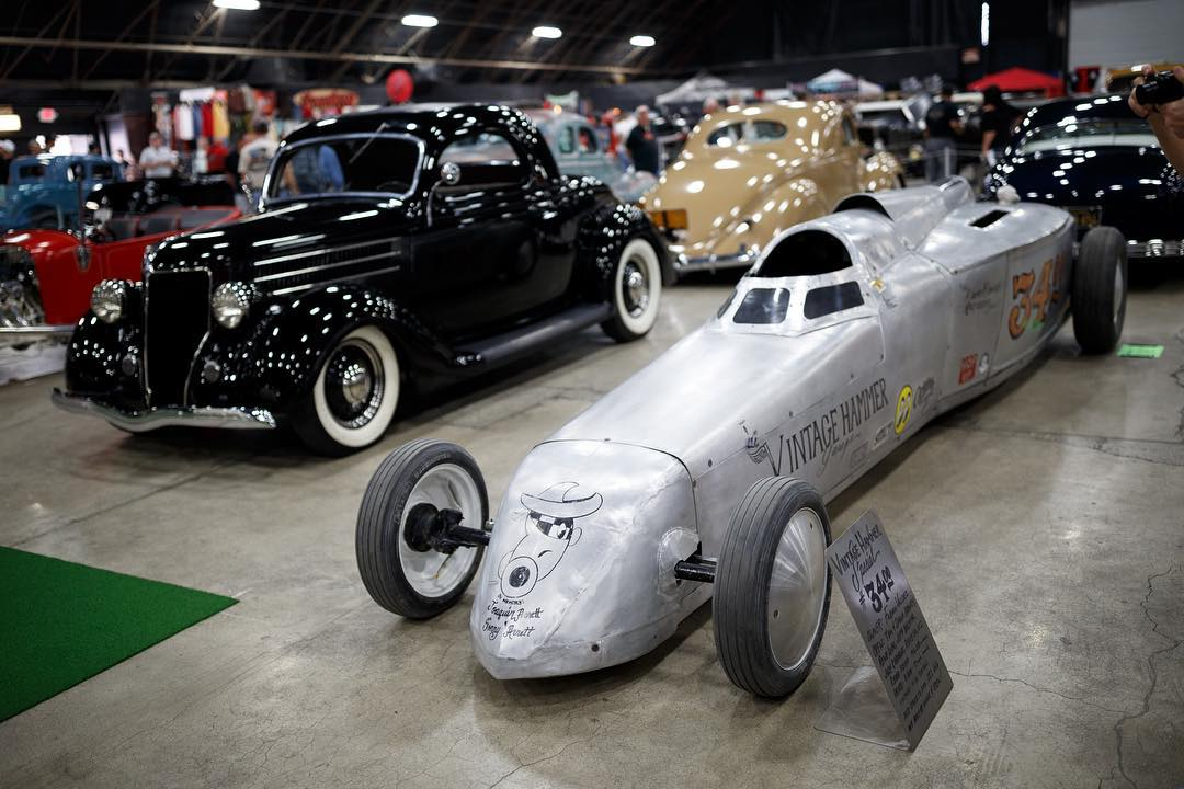 Your aero's favorite aero. Looking back at Grand National Roadster Show. #gnrs2016