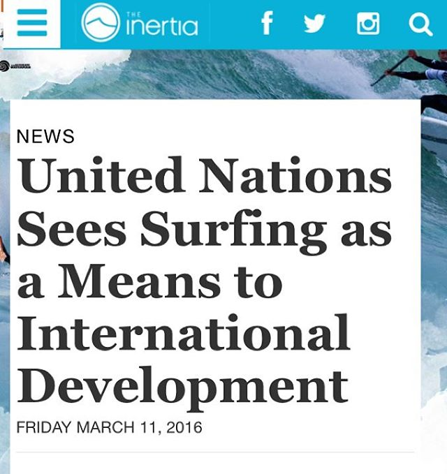 The latest article on @theinertia highlighting our support from the @unitednations! Link in bio