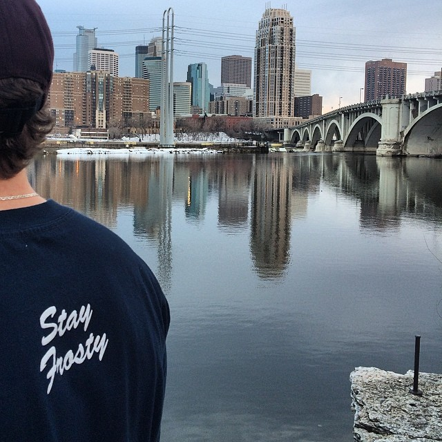 Stay Frosty Minneapolis.