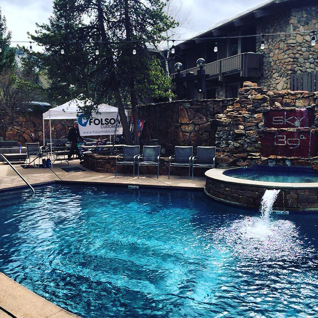 We don't always do demo's... But when we do, we choose @skyhotelaspen #worldsmostinterestingskicompany