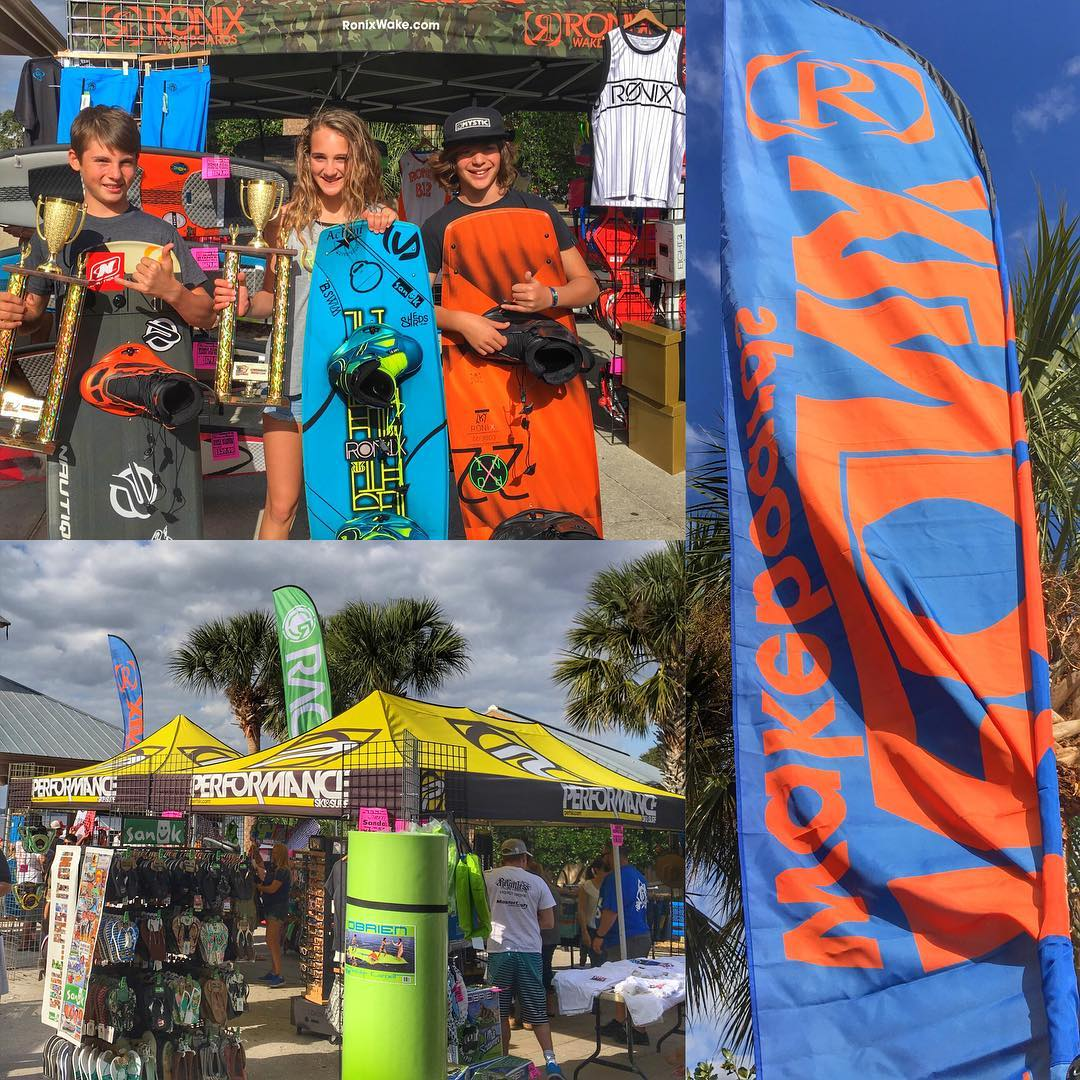 What a great day of Fun on the water! The Pig on the Pond festival doesn't disappoint. Congrats to @kevinduffy_  @shaysahinbas and @tylerworrall on some great shredding. Special thanks to @perfski for all the love! #ronix2016 #oneloveinwake...