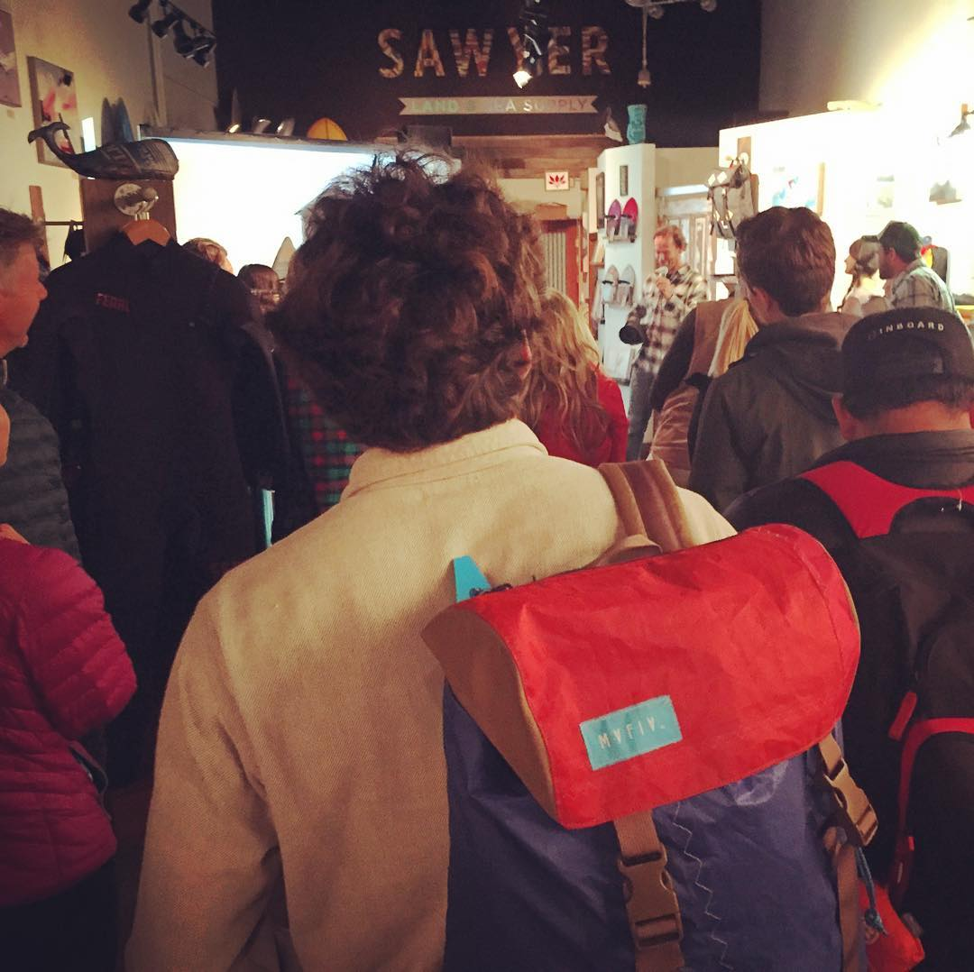Big Thanks to everyone for coming out to our #Soiree last night at @sawyersupply !