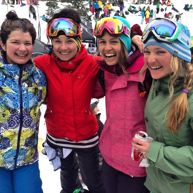 Missing these ladies! I met these amazing women when we were just kids. I am so fortunate to have you and so many other inspiring beings in my life. #missingmyfriends #followyourdreams #bethechange #snowboarding #SFS #neversummersnowboards...
