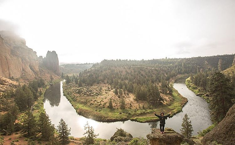 There's not much that can beat a Saturday. Except maybe a Saturday at Smith Rock with @austensweetin!