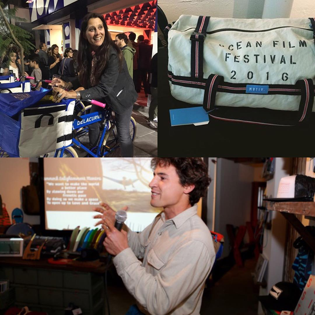 One night, many ways of approaching the ocean // After months of development we launched the line of bags for @delacurva at their restaurant opening in #buenosaires.  Day 2 at San Francisco International Film Festival!  Marcos, our co-founder at Mafia,...