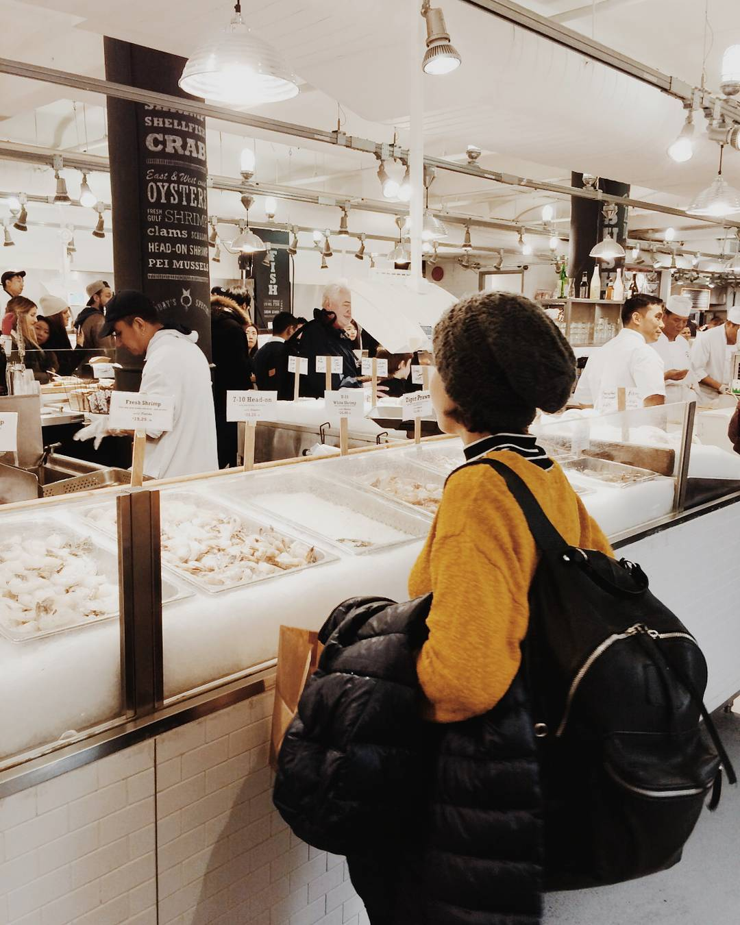 NY with MAMBO . Chelsea Market  #ny #newyork #backpack #welltravelled #goexplore