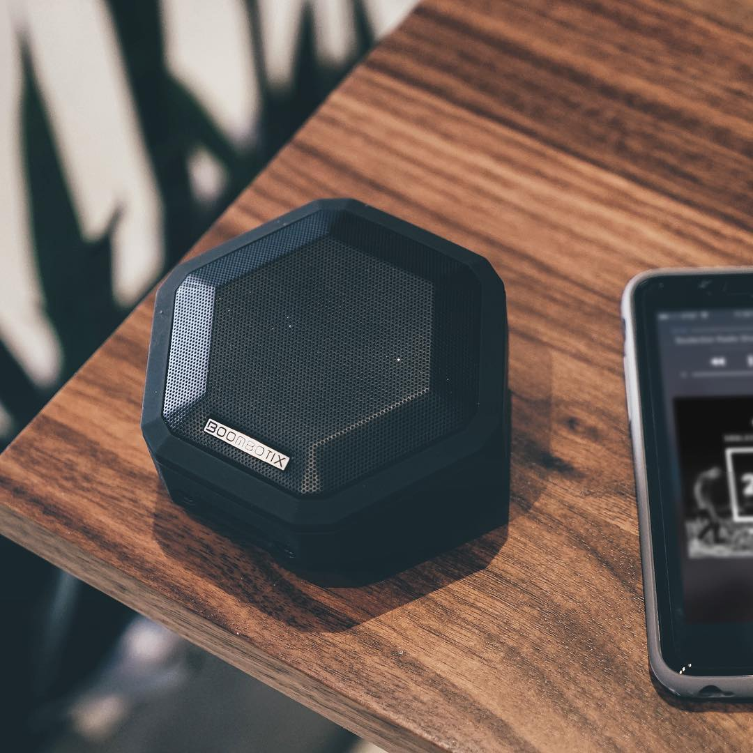 Master your sound. Boombot Pro What are you listening to today? #Boombotix  #essential #design #audiophile #portablespeaker