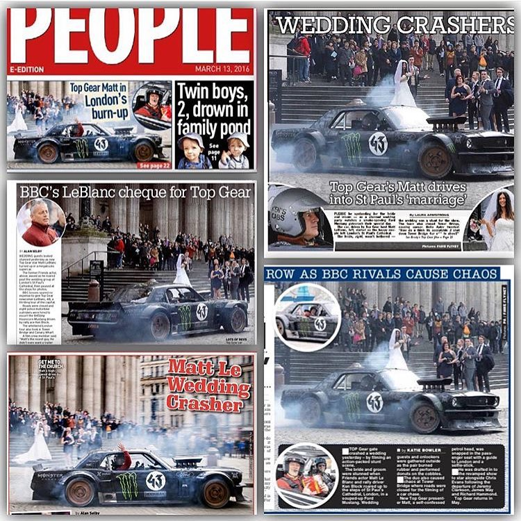 #Regram from a fan (@rppixltd) who put together a collage of all this crazy news coverage from the #TopGearLondonTakeover over the past two days here in London. All up in your newspapers and tabloids! #qualityreadingmaterial #paparazzipopping