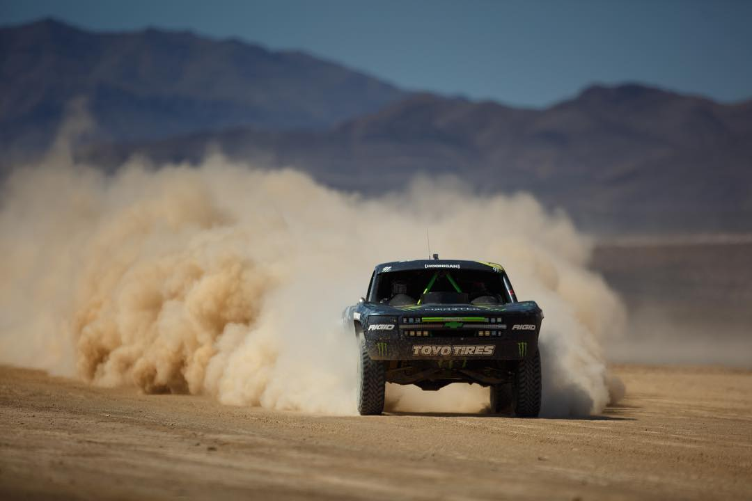 Wrapping up the #mint400 with our homie @bjbaldwin taking 5th place. Serious progress from the qualifying!#sundayshred