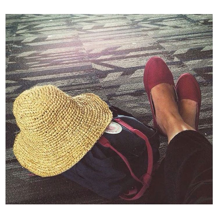 """""""On my way home and yet my feet are already itching for the next adventure."""" #regram @linasur Well said!"""