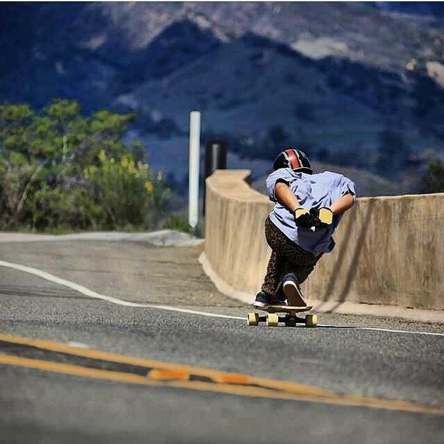 Regram @valhallaskateboards #teamrider @f_cooper_d rockin the #s1 Lifer x El Gato #helmet . #skateboarding