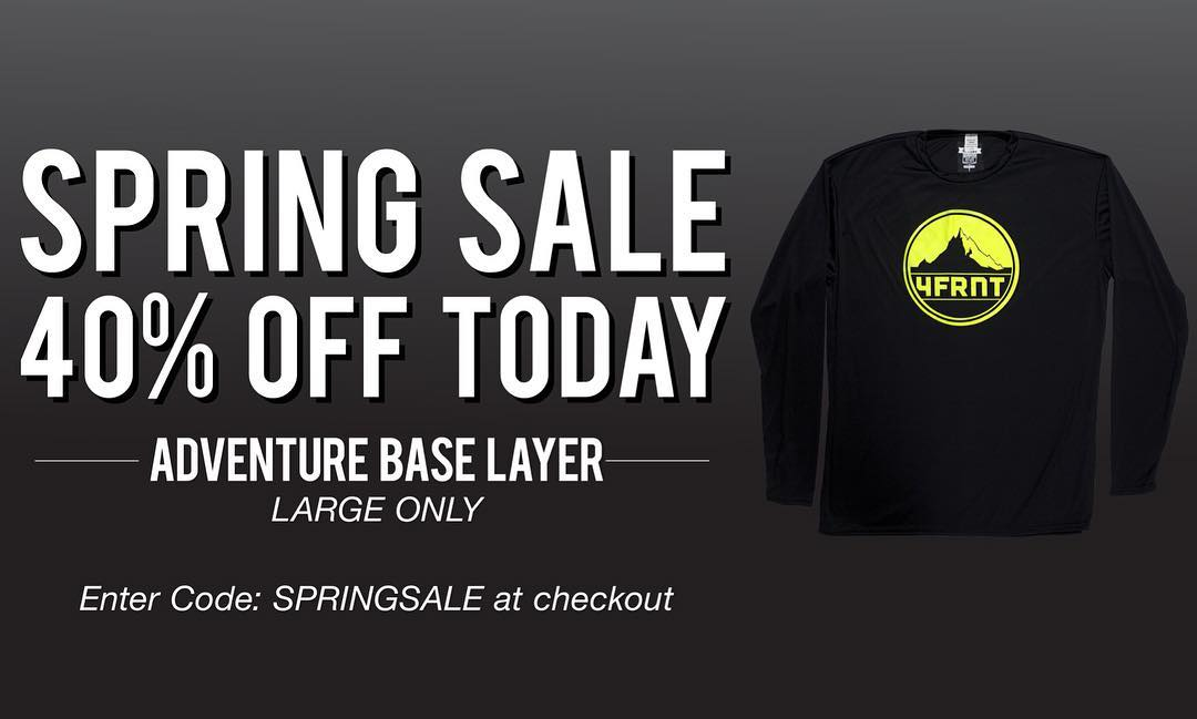 Stormagedon is upon the west! Get some new base layers from your favorite ski brand today. Be warm, ski better. #springsale #springbreak #baselayers #4frnt
