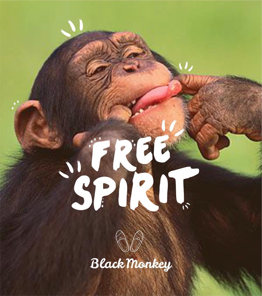 Empezá la semana con toda la actitud!!! Black Monkey Style