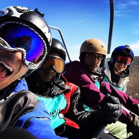 Regram from @dmjury of the last snow trip of the season! @belleayre @stoked_nyc