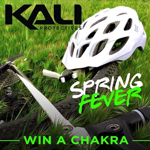 What better way to celebrate spring than with a fresh helmet for the new season? From now until March 18th, 2016 enter for your chance to win a shiny new Kali Chakra helmet. Repost this image and tag three (3) friends. Make sure you complete your entry...