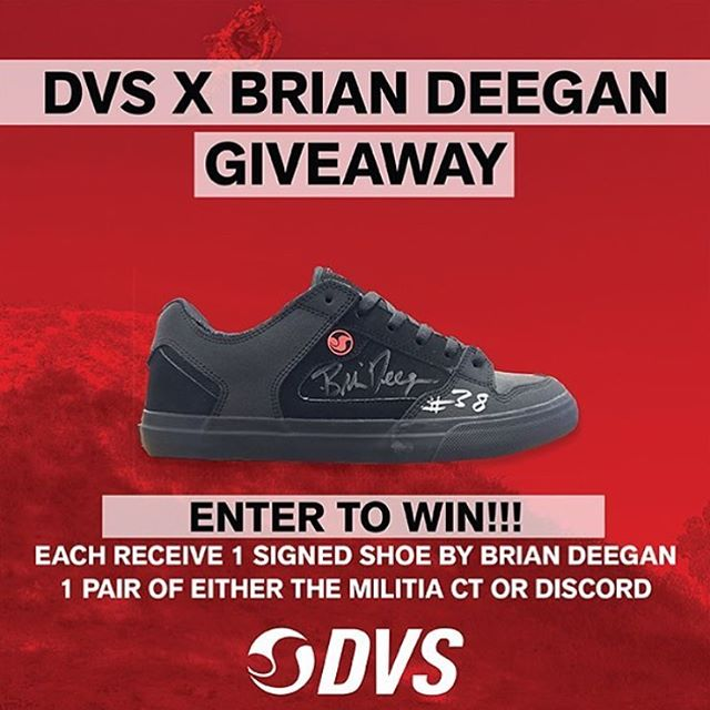 One winner has already been picked. Click the link in @dvsshoes bio for a chance to win