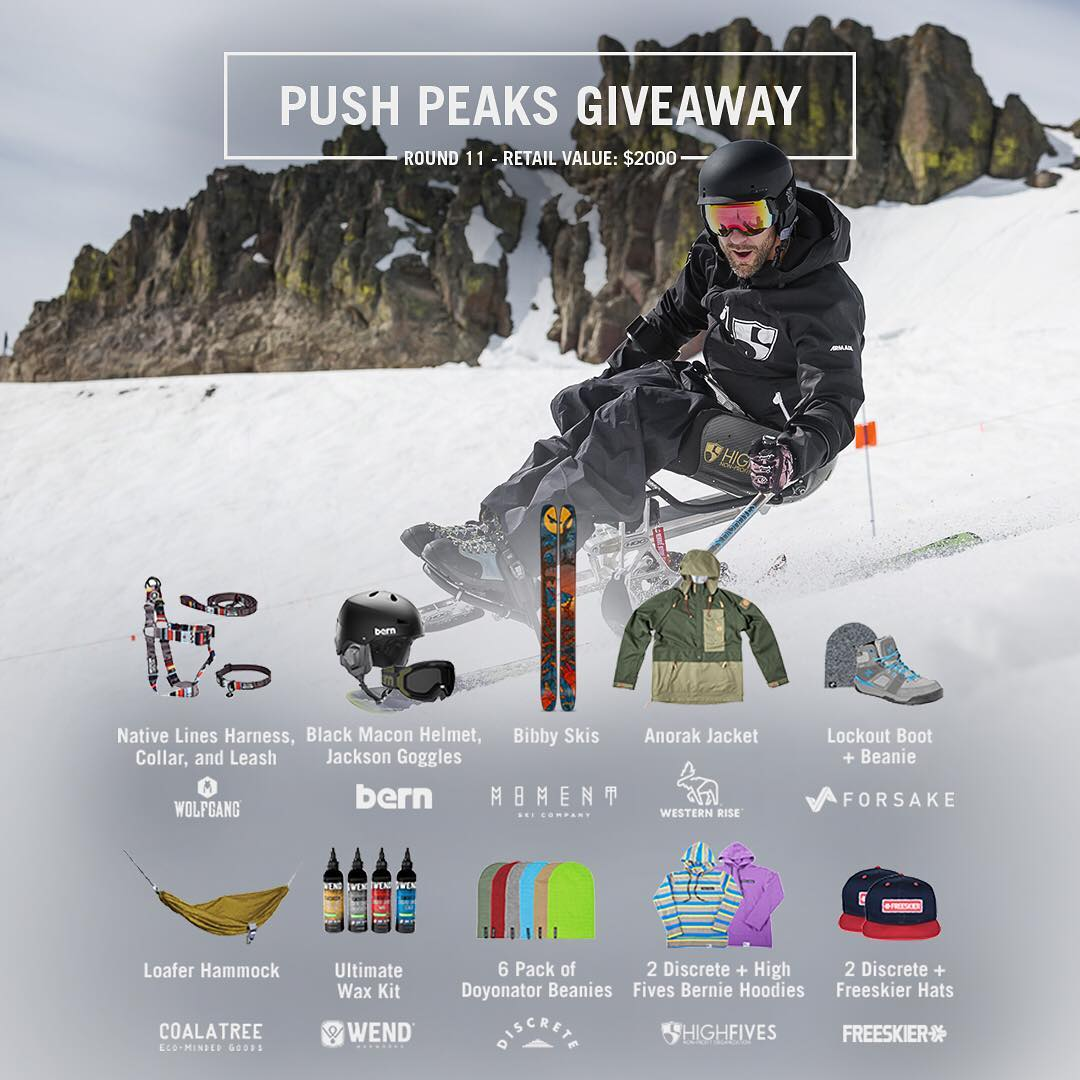 1. New round of the #PushPeaks Giveaway is now live! 2. All loot valued at $2000.00 3. Enter by following link in bio We're offering a massive giveaway together. Tag someone that could use a new hammock, shoes, skis, goggles, jacket, etc! ☝ | Tap link...