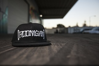 A fav around here at the Donut Garage, the Bones Snapback. Available on #hooniganDOTcom.