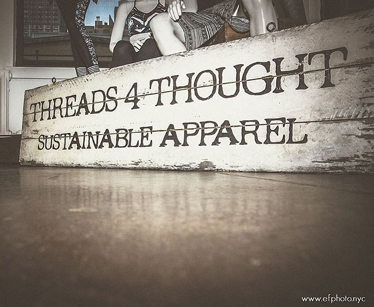 Second to oil, the fashion & textiles is the most polluting industry in the world. At Threads 4 Thought, we are committed to using sustainable materials, and working with factories that treat their workers ethically & humanely to help make a difference...