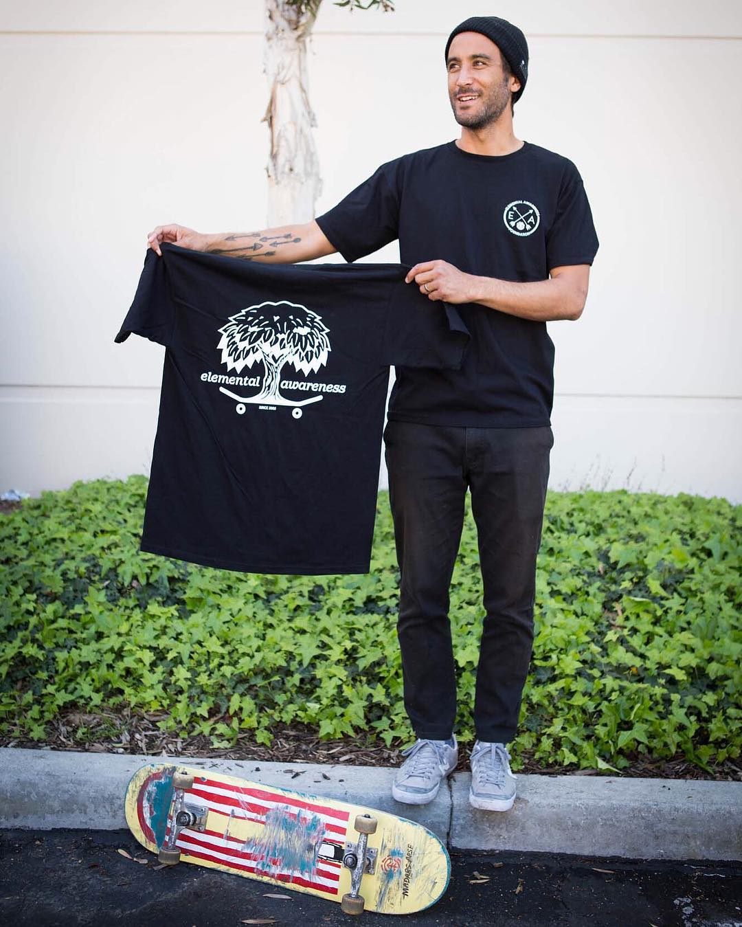 Our dude Chad Tim Tim (@7im7im) just got his hands on the latest @Elementalawareness tees, and you should too! 100% of the profits help connect kids to nature through skateboarding >>> More info at ElementalAwareness.org. Special thanks to our friends...