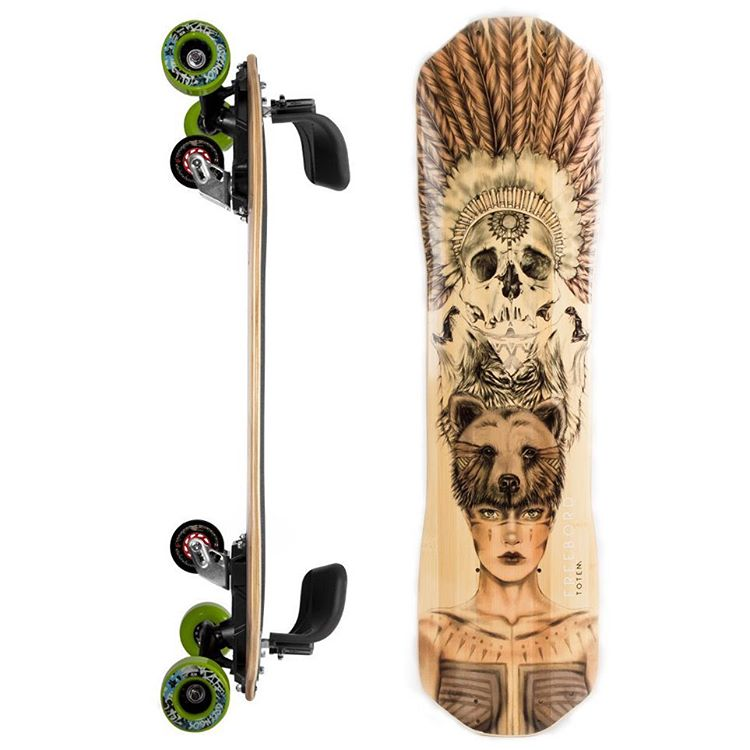 Our new Totem #Freebord deck is flyin' off the shelves - Don't sleep on this one!