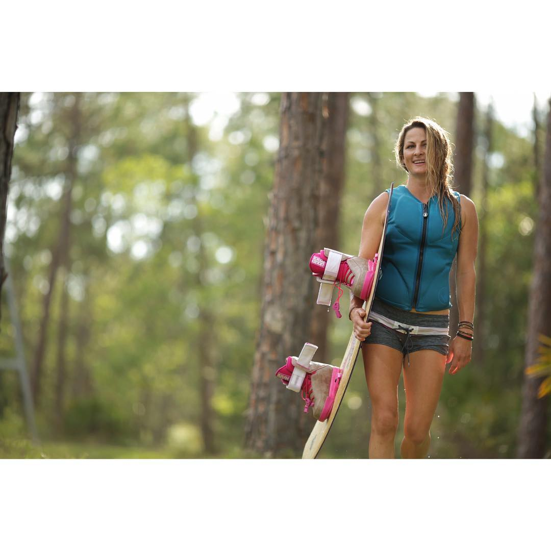 Walk on over to your local LF dealer or LiquidForceApparel.com to see what has @melissa_marquardt smiling about this Spring... #LiquidForceApparel  #FloatieBoardshorts