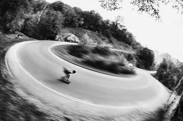#orangatangambassador @christianrosillo going warp speed on a left turn.