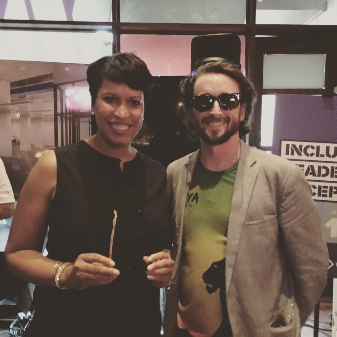 Washington DC Mayor Bowser @mayor_bowser is doing great work to help small businesses that are #MadeInDC #WeDC #dctech #sxsw #waveborn #givesight