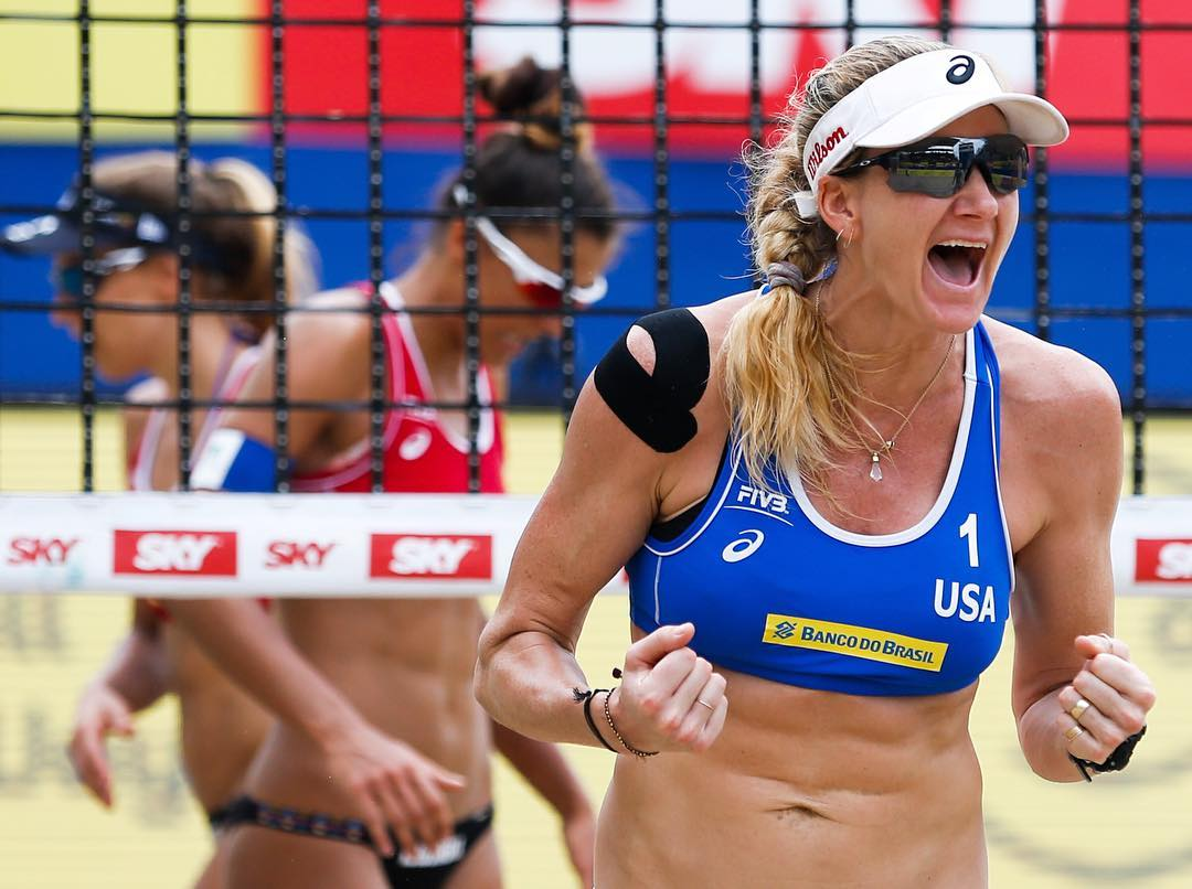 The feeling never gets old.  Congrats to @kerrileewalsh and her partner on their win at the Rio Grand Slam. #OakleyEVZero #RioGS