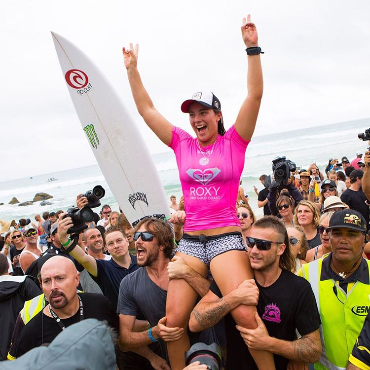 Congrats to Tyler Wright! 2016 #ROXYpro Gold Coast Champion. If you missed any of the action, tap the link in our bio for the full recap