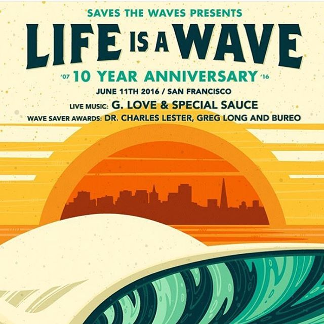 What are you doing June 11th? We've got you covered. Tickets are now on sale for Life Is A Wave 2016! Don't miss out. ✌