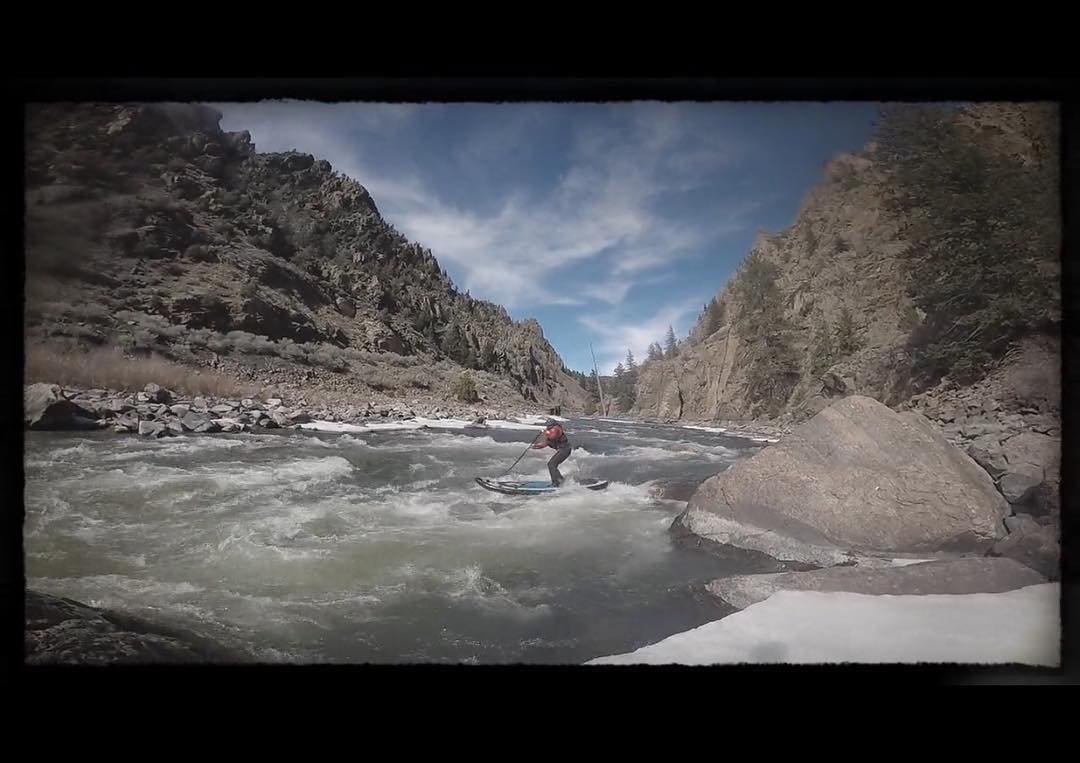 @buckleycoldnwet and @trinwa got out to do some early season paddling! Check out their video at https://vimeo.com/158578980?ref=fb-share&1  #halagear #adventuredesigned #whitewaterdesigned #paddlewithfriends #isup #inflatable #standuppaddle...