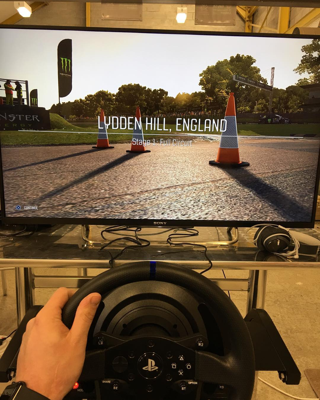 My day today with @dirtgame @codemastersgames #dirtrally #dirtgame #rx