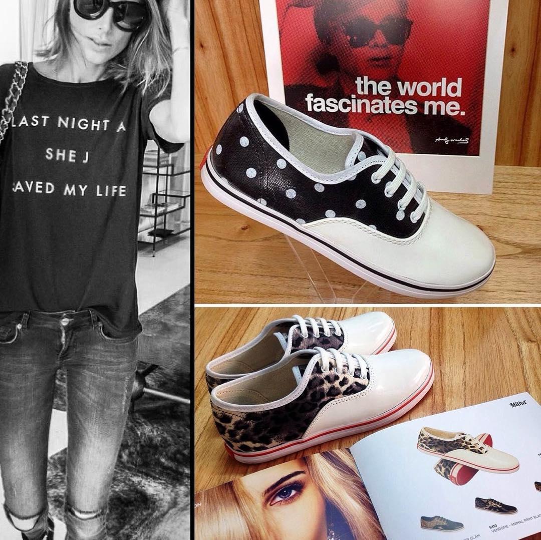 Milha™ Rocker Style! Dos modelos para tener un look con jeans rotos y remera oscura! Made to Enjoy! www.milha.com.ar #rockerstyle #milha