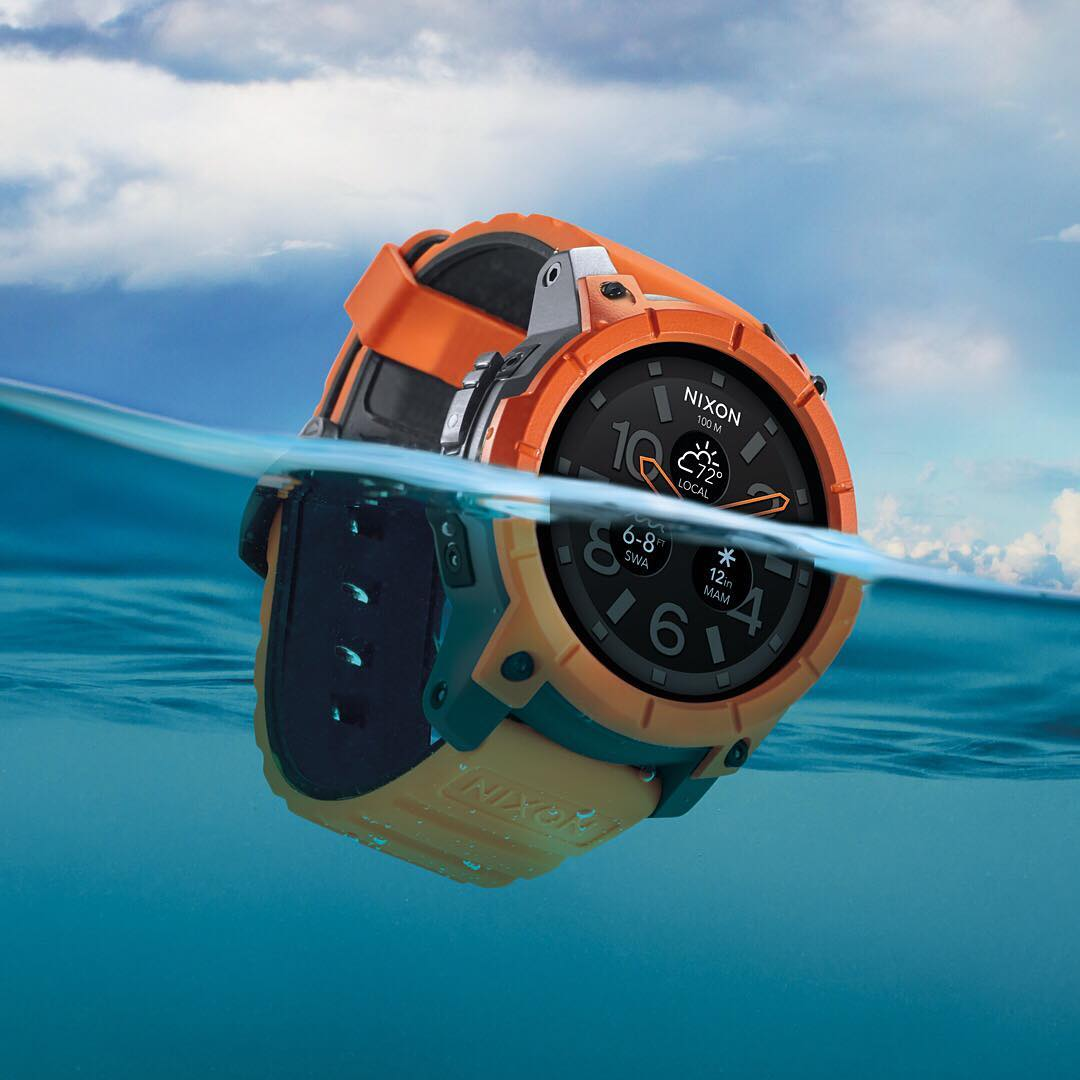 Surf. Snow. Smart. Ultra-rugged and waterproof. Welcome the #Mission, the world's first action sports #smartwatch powered by @google #androidwear. Learn more at Nixon.com. #Nixon @qualcomm @traceup @surfline