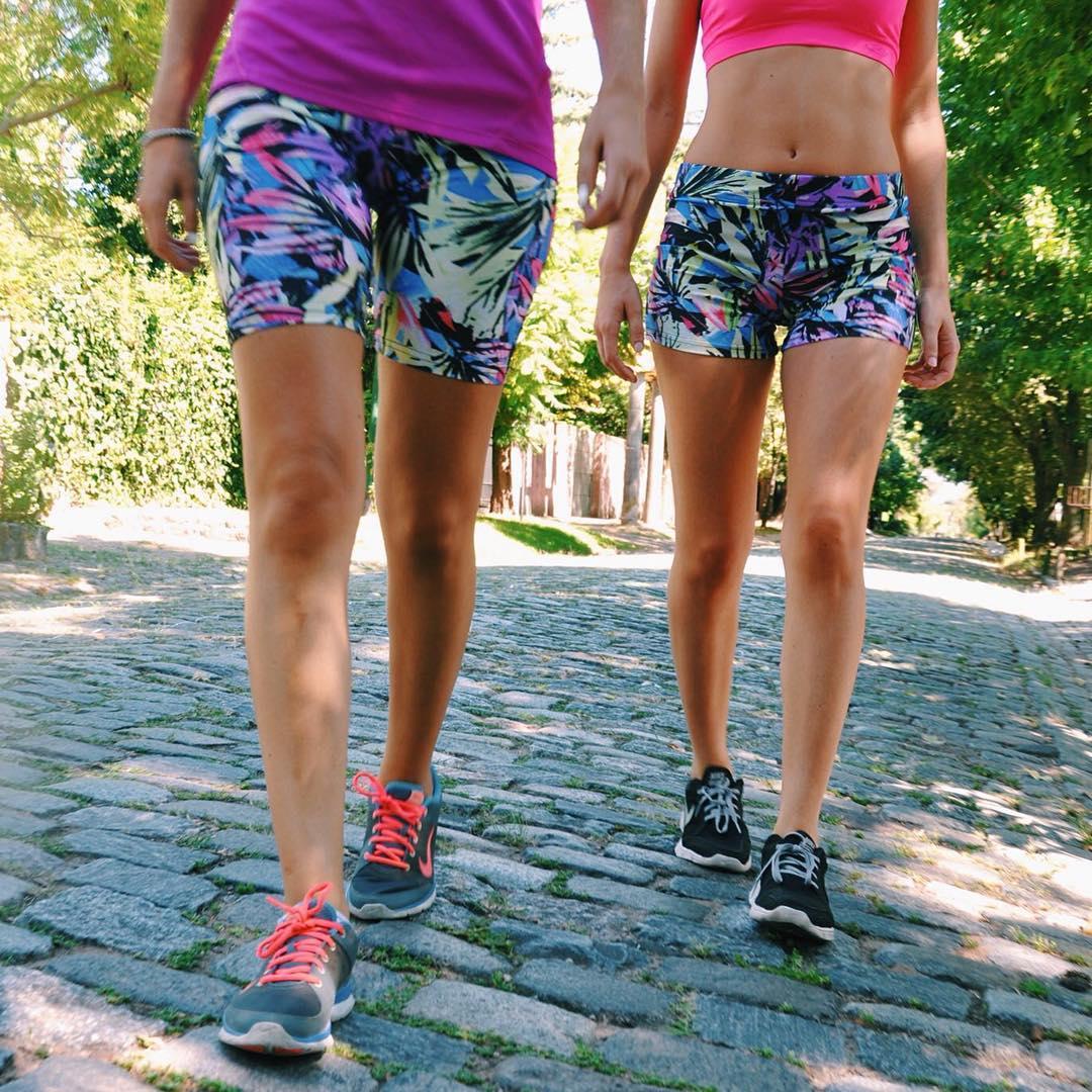 Morning partners ☀️ Biker & Short Mora #BackToFitness
